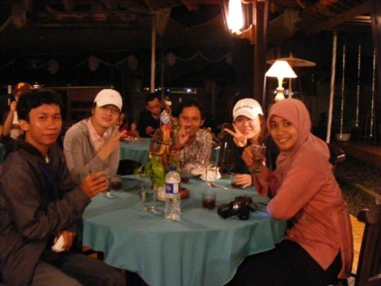 dinner di Prambanan