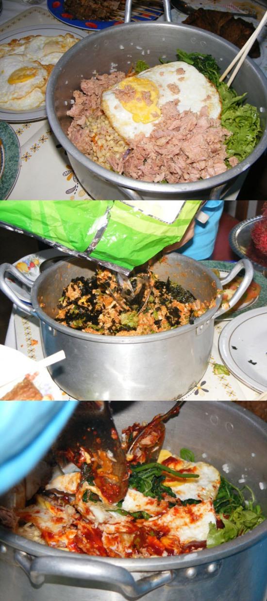 Nasi Campur Korea