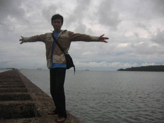 chiell on Teluk Penyu Beach