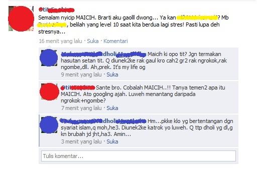 Status Facecebook Lucu