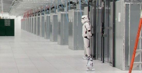 stromtroopers in Google's data center